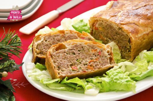 Polpettone in crosta ricetta di pronto in tavola - Tgcom pronto in tavola ...