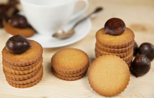 I dolci di alice biscotti alle castagne ricetta di - Pronto in tavola alice ...