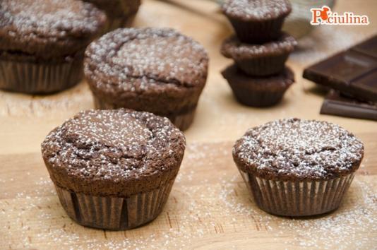 Muffin al cioccolato ricetta di pronto in tavola - Ricette monica bianchessi pronto in tavola ...