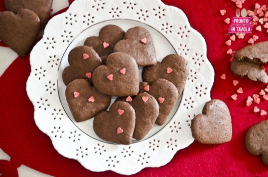 Cuori morbidi al cioccolato ricetta di pronto in tavola - Tgcom pronto in tavola ...