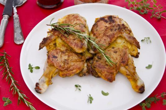 Pollo alla diavola ricetta di pronto in tavola - Ricette monica bianchessi pronto in tavola ...