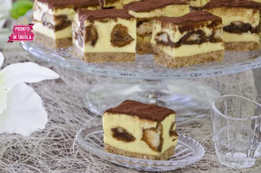 Cheesecake tiramis ricetta di pronto in tavola - Tgcom pronto in tavola ...