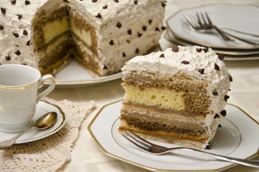 Torta millefoglie al caff ricetta di pronto in tavola - Ricette monica bianchessi pronto in tavola ...