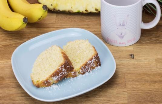 I dolci di alice ciambella ananas e banana ricetta di - Pronto in tavola alice ...