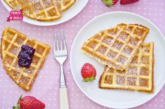 Waffle ricetta di pronto in tavola - Tgcom pronto in tavola ...