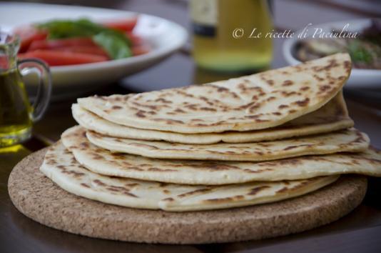 Piadina romagnola ricetta di pronto in tavola - Ricette monica bianchessi pronto in tavola ...