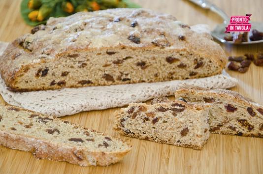 Pane dolce ai fichi ricetta di pronto in tavola - Ricette monica bianchessi pronto in tavola ...