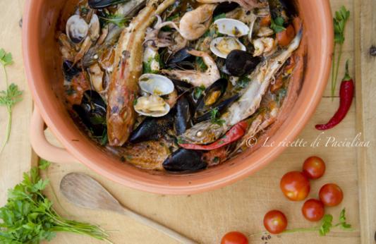 Zuppa di pesce ricetta di pronto in tavola - Ricette monica bianchessi pronto in tavola ...