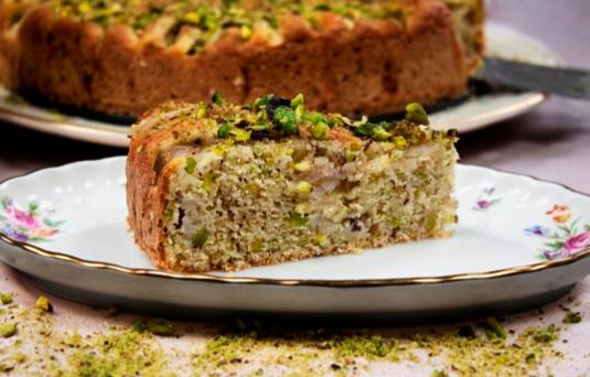 I dolci di alice torta alle pere e pistacchi ricetta - Pronto in tavola alice ...