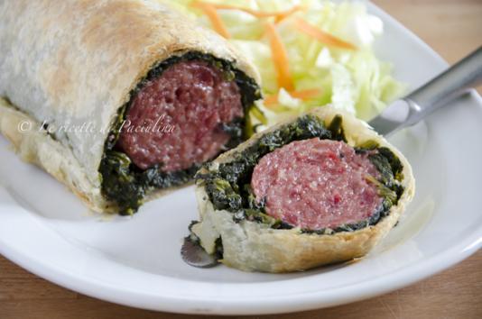 Rotolo di cotechino e spinaci ricetta di pronto in tavola - Ricette monica bianchessi pronto in tavola ...