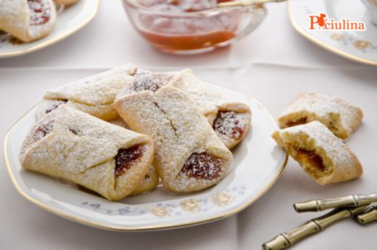 Biscotti pizzicati alla marmellata ricetta di pronto in tavola - Ricette monica bianchessi pronto in tavola ...