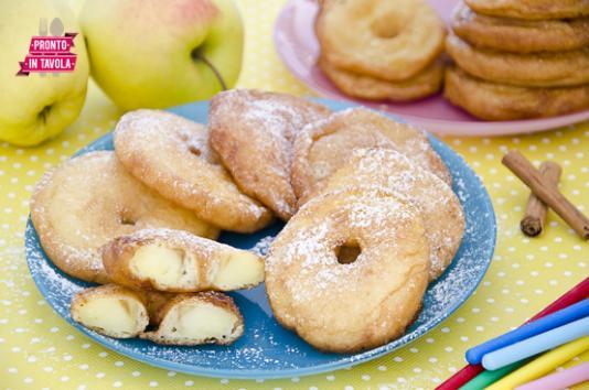 Frittelle di mele ricetta di pronto in tavola - Tgcom pronto in tavola ...