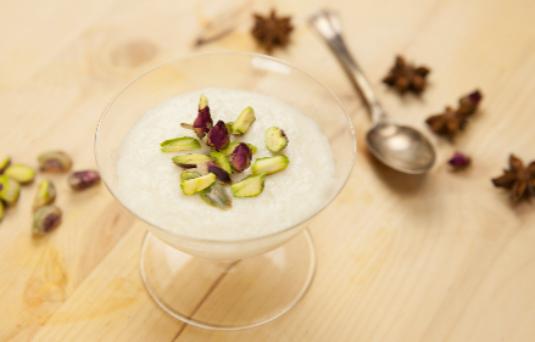 I dolci di alice riso al latte profumato alla rosa - Pronto in tavola alice ...