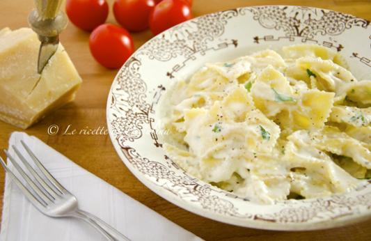 Pasta e ricotta di bufala ricetta di pronto in tavola - Ricette monica bianchessi pronto in tavola ...