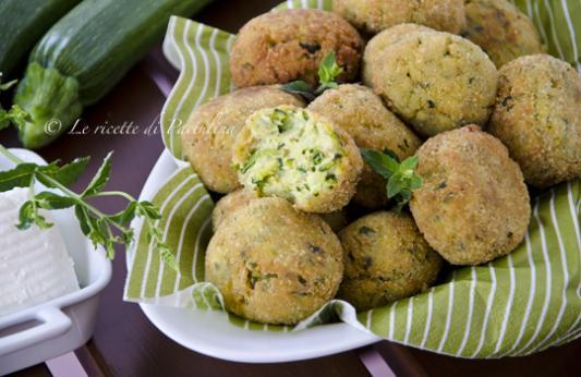 Polpette di zucchine ricetta di pronto in tavola - Ricette monica bianchessi pronto in tavola ...