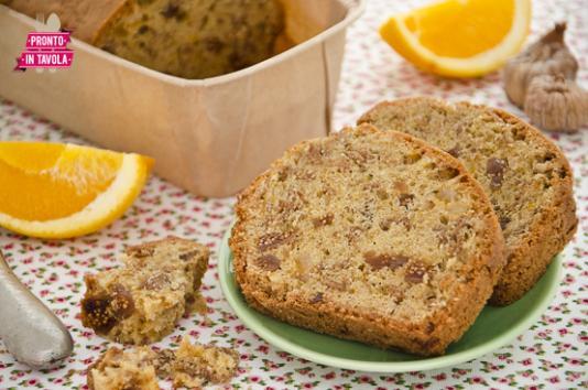 Plumcake ai fichi e cereali ricetta di pronto in tavola - Tgcom pronto in tavola ...