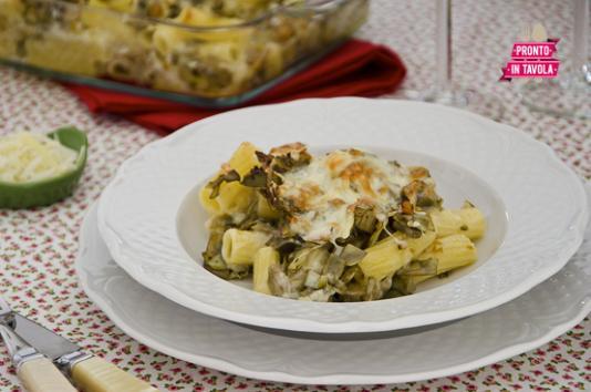 Pasticcio di pasta ai carciofi ricetta di pronto in tavola - Tgcom pronto in tavola ...