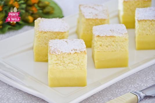 Torta magica ricetta di pronto in tavola - Ricette monica bianchessi pronto in tavola ...