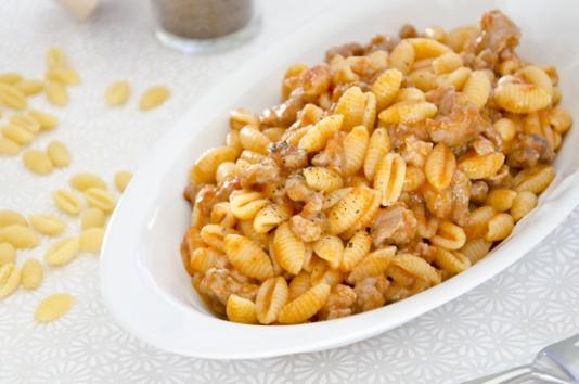 Malloreddus alla campidanese ricetta di pronto in tavola - Ricette monica bianchessi pronto in tavola ...