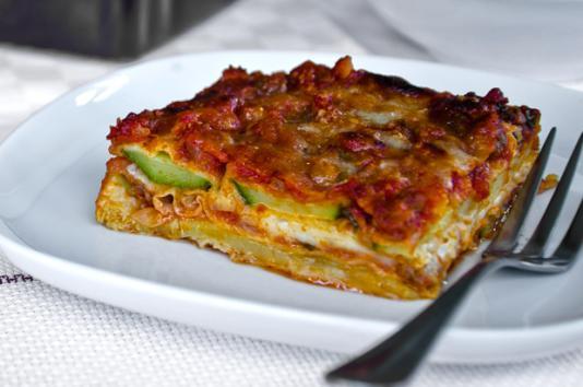 Parmigiana di zucchine ricetta di pronto in tavola - Ricette monica bianchessi pronto in tavola ...