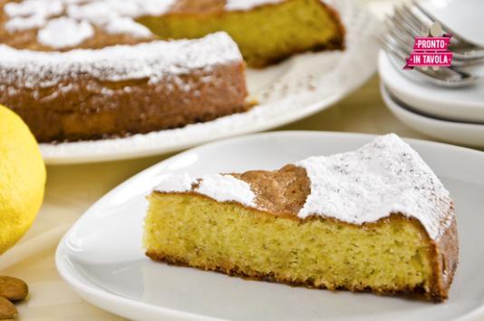 Torta caprese al limone senza burro ricetta di pronto in - Tgcom pronto in tavola ...