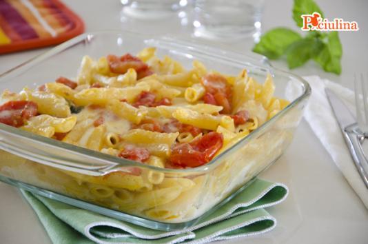 Pasta alla sorrentina ricetta di pronto in tavola - Ricette monica bianchessi pronto in tavola ...