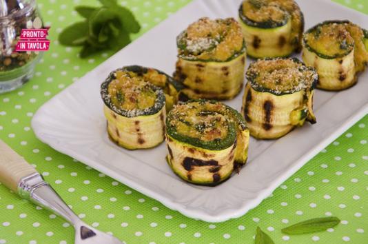 Involtini di zucchine ricetta di pronto in tavola - Pronto in tavola alice ...