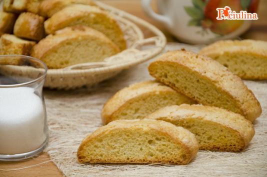 Biscotti da inzuppare ricetta di pronto in tavola - Ricette monica bianchessi pronto in tavola ...