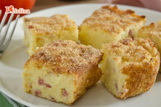 Gateau di patate filante ricetta di pronto in tavola - Ricette monica bianchessi pronto in tavola ...