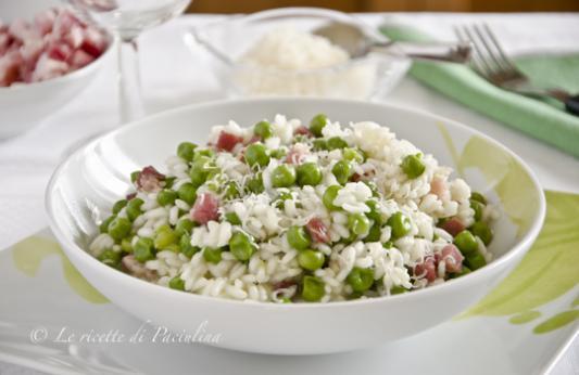 Risi e bisi ricetta di pronto in tavola - Ricette monica bianchessi pronto in tavola ...
