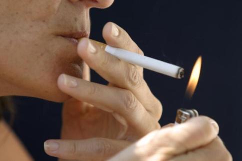 La madre ho smesso di fumare una rimescolanza