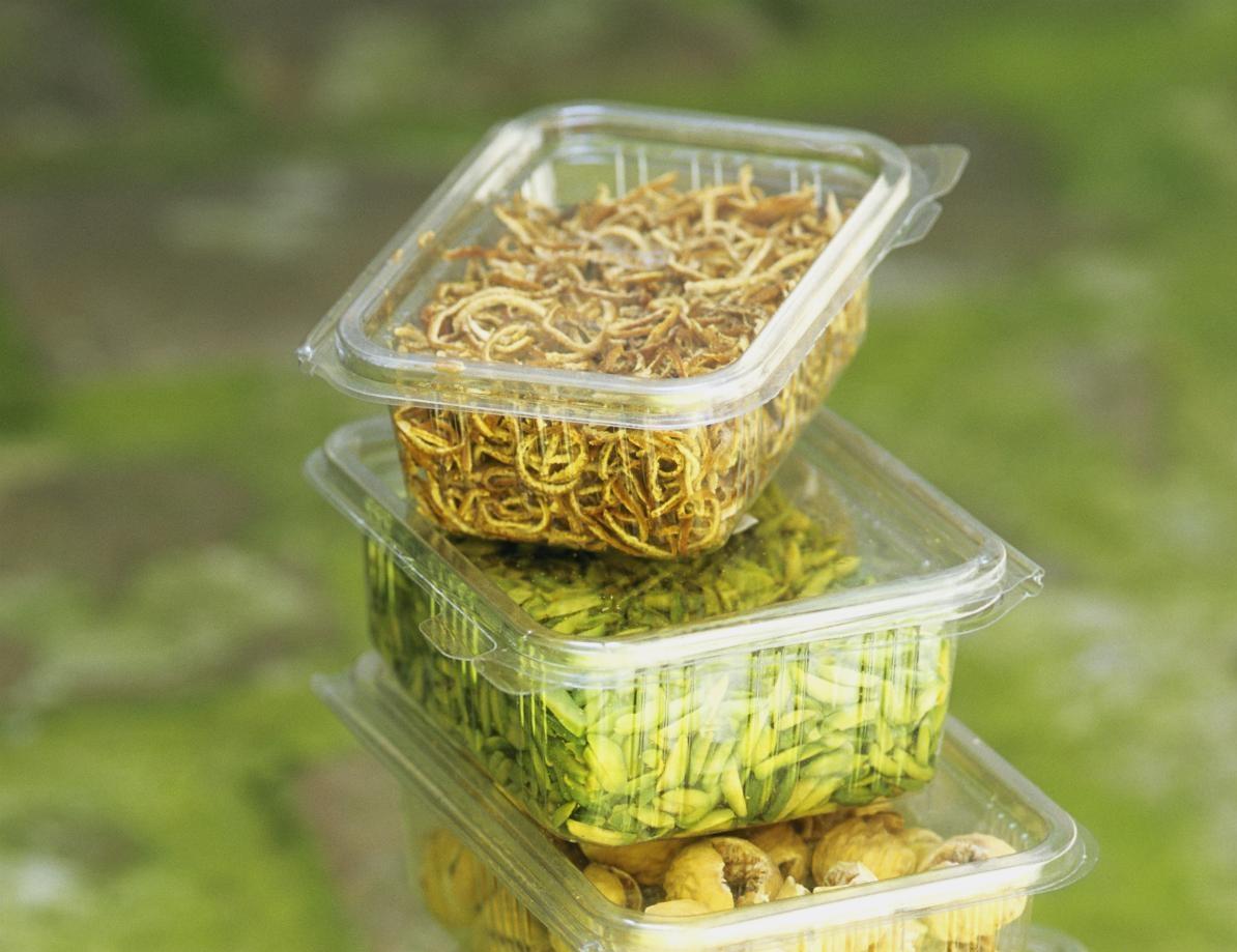 sì alla plastica frutto di riciclo nei contenitori per gli alimenti