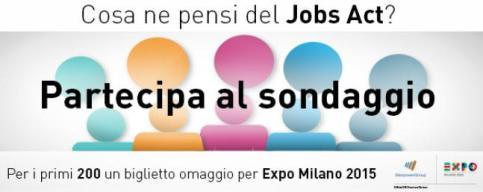 Ti piace il Jobs Act? Racconta la tua opinione a ManpowerGroup