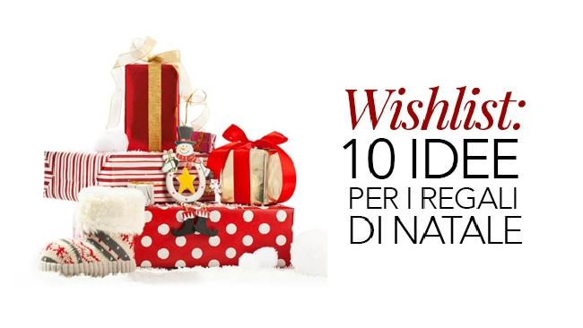 Wishlist 10 idee per i regali di natale tgcom24 for Idee per regali di natale