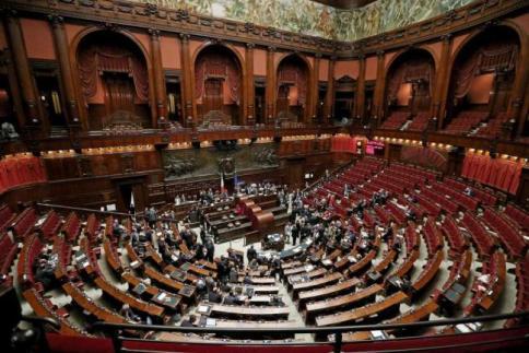 Consulta ancora fumata nera per l 39 elezione dei tre for Votazioni parlamento