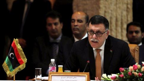 Il governo Sarraj a Tripoli via mare