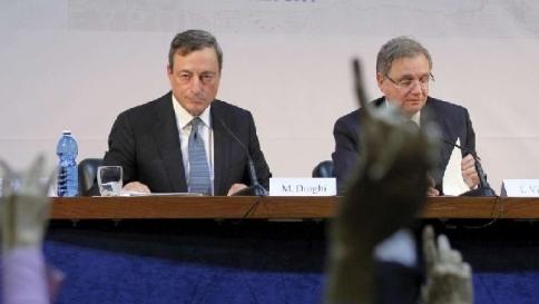 """Ignazio Visco: """"Ue lontana da obiettivi di inflazione ma Bce è determinata"""""""