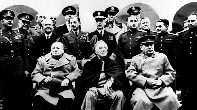 an analysis of the cold war the result of stalin adopting a policy contrary to the yalta agreement It focuses on the transition of american foreign policy from world war ii to the cold war  in agreement with stalin and claims that cold war.