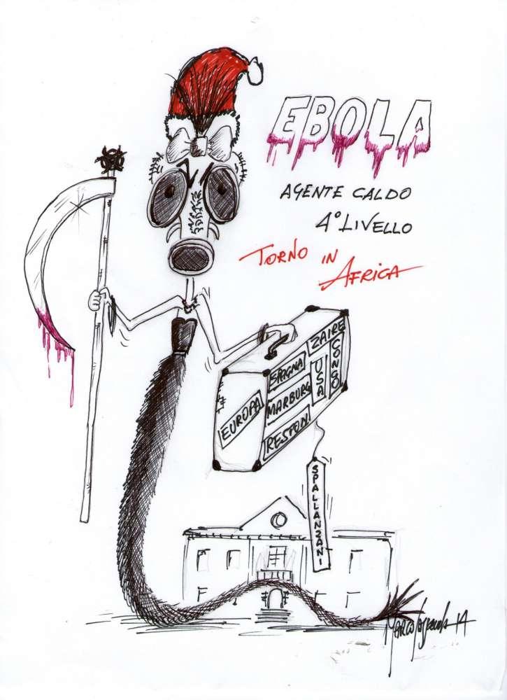 Auguri Di Natale Per Un Dottore.Ti Amo Ma Ti Lascio Ebola Scrive All Italiano Malato In