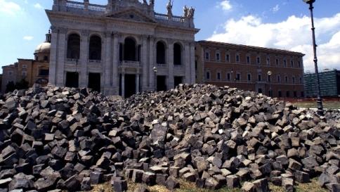 Vendita sampietrini roma