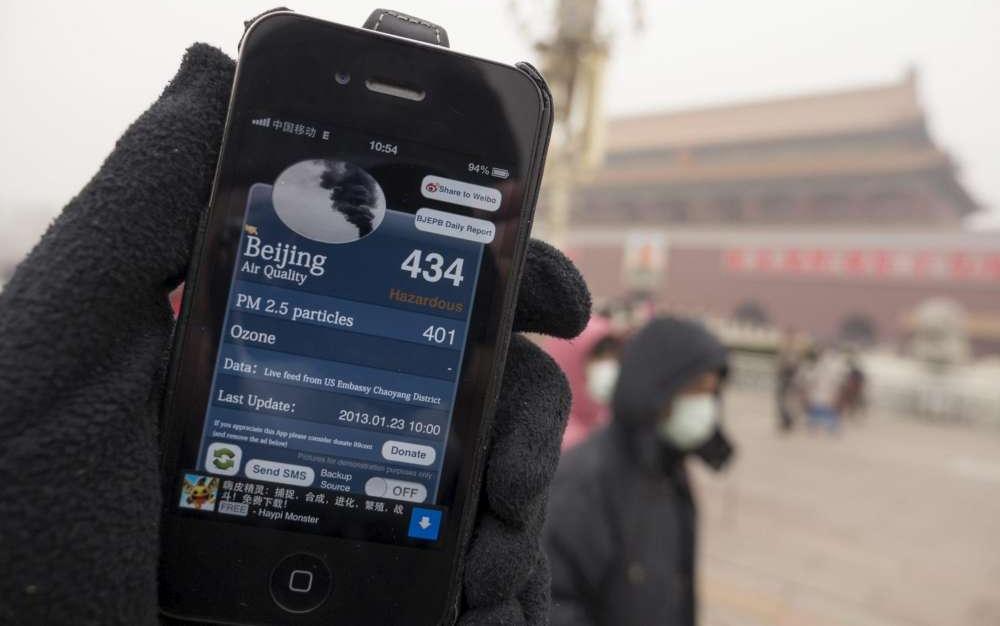 Pechino vieta i barbecue per contrastare l'inquinamento dell'aria