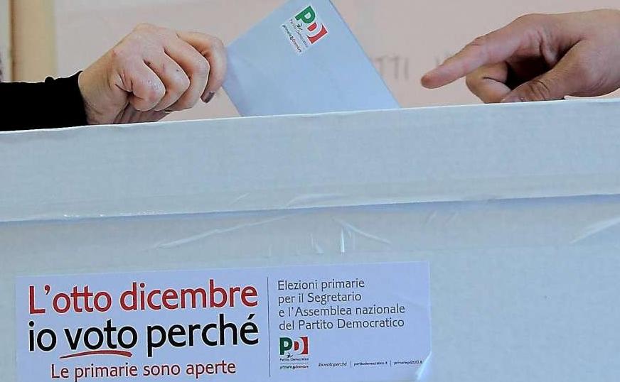 Primarie del pd cronista vota due volte e 39 bastata una for Piani di casa del fienile a una sola storia