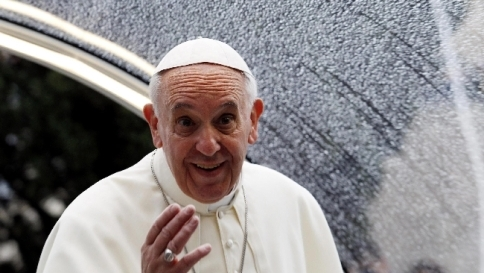 "Papa Francesco: ""Un miliardo persone soffrono fame, è scandalo"""