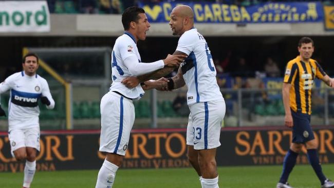 """Inter presa a """"testate"""": col Verona pari in rimonta"""