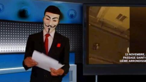 Parigi,parte la vendetta di Anonymous  Oscurati 5.500 account leagati all'Isis