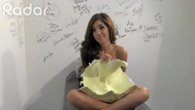 Farrah Abraham f  224  il calco in gesso della sua vagina  VideoFarrah Abraham Mold