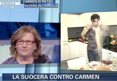 La suocera contro Carmen Di Pietro