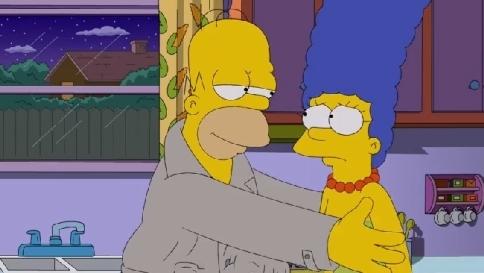 """Anche i Simpson sbeffeggiano i politici italiani: """"E' un Parlamento di corrotti"""""""