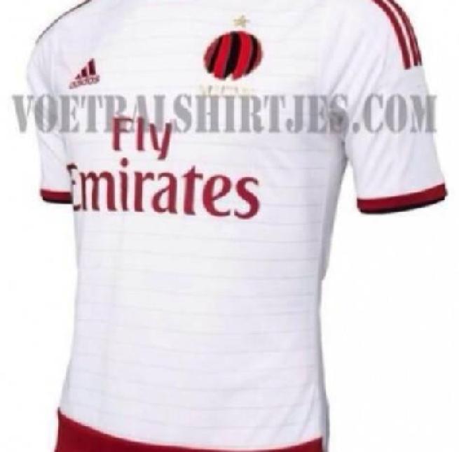 e8f78dba9d9f7d Milan, il nuovo logo nella seconda maglia 2014/15: subito polemica ...