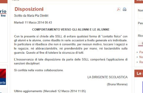Lecce, incubo pedofilia a scuola: vietato dare la mano ai bambini